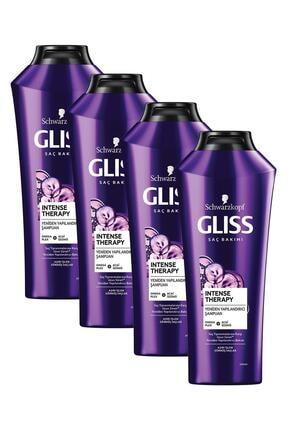 Gliss Intense Therapy Yeniden Yapılandırıcı Şampuan 360 ML 4'lü 0