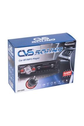 CVS Siyah Bluetoothlu Oto Teyp Dn6305 1