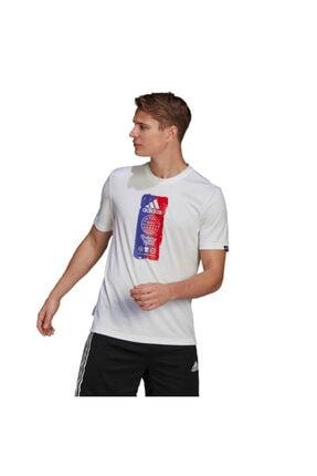 adidas M FTO ICN T Beyaz Erkek T-Shirt 101079871 1