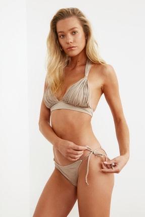 TRENDYOLMİLLA Vizon Bağlama Detaylı  Bikini Altı TBESS21BA0170 2