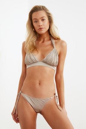 TRENDYOLMİLLA Vizon Bağlama Detaylı  Bikini Altı TBESS21BA0170 4