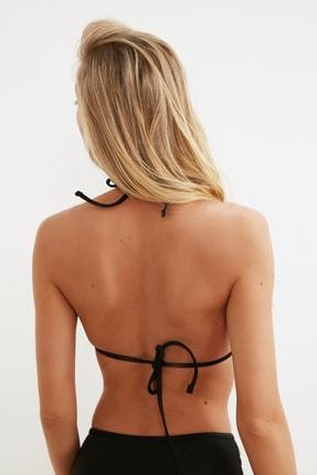 TRENDYOLMİLLA Siyah Payetli Üçgen Bikini Üstü TBESS20BU0184 3