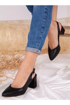 ayakkabıhavuzu Kadın  Topuklu Ayakkabı - Siyah - Ayakkabı Havuzu 2