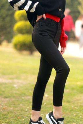 ayşegül export Kadın Siyah Skinny Jean 1