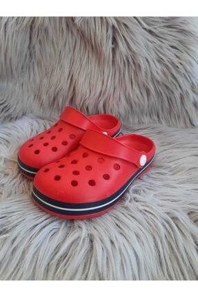 Akınalbella Unisex Çocuk Kırmızı  Crocs Terlik 0