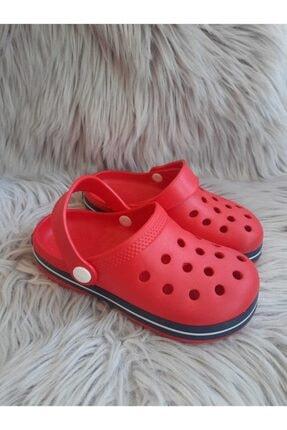 Akınalbella Unisex Çocuk Kırmızı  Crocs Terlik 2