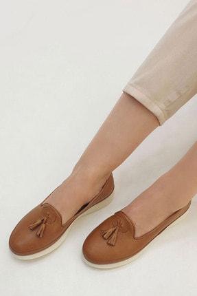 Marjin Sore Kadın Hakiki Deri Comfort Ayakkabıtaba 3
