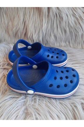 Akınalbella Çocuk Mavi Renk Crocs Terlik 1