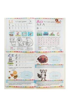 Ya-Pa Yayınları Çizgi Çalışmaları Kodlama Ingilizce Ve Etkinlikli Boyama Kitapları Seti Okul Öncesi 25kitap 4