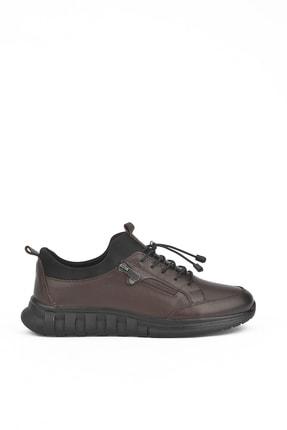 تصویر از کفش روزمره مردانه قهوه ای