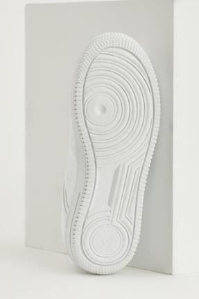 Defacto Kadın Beyaz Bağcıklı Sneaker Ayakkabı 3
