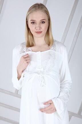 Duchesse Lohusa Sabahlıklı Pijama Takımı 1002 3