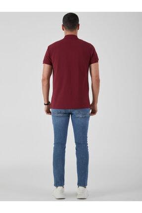 Ltb Erkek  Bordo Polo Yaka T-Shirt 012208450860890000 3