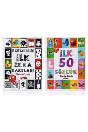 Diytoy Flash Cards Ilk 50 Sözcük Bebeğimin Ilk Zeka Kartları 0