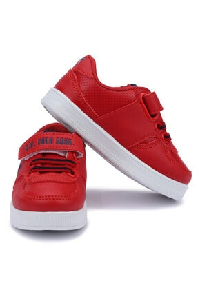 US Polo Assn CAMERON 1FX Kırmızı Erkek Çocuk Sneaker 100909777 1