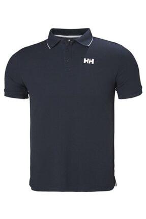 Helly Hansen Kos Polo Yaka Erkek T-shirt Lacivert 0