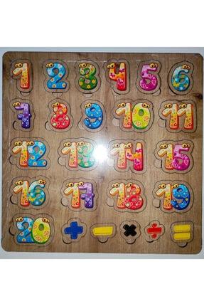 AVDA Rakamlar Sayılar Matematik Puzzle 0