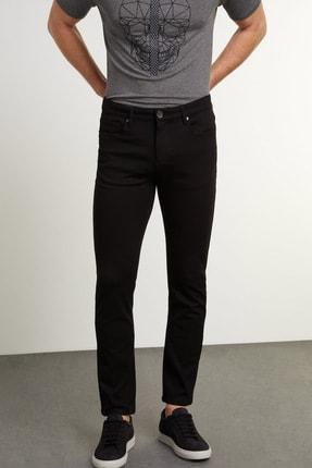 Network Erkek Slim Fit Siyah Casual Pantolon 1079175 1