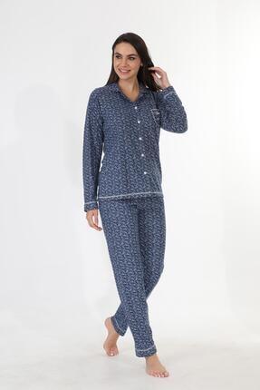 Etoile Ekstra Yumuşak Kumaş Pijama Takımı 98145 2
