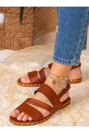 ayakkabıhavuzu Sandalet - Taba - Ayakkabı Havuzu 1