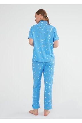 Suwen Fiona Maskulen Pijama Takımı 2