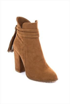 Fox Shoes Taba Kadın Bot A922803902 1