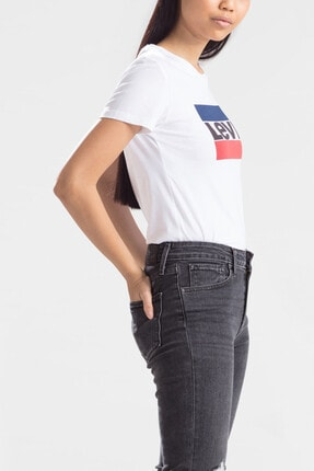 Levi's Kadın Beyaz T-shirt 17369-0297 1