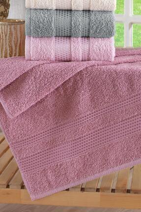 Zeynep Tekstil Stars Antibakteriyel  El&Yüz Havlu Seti 6'lı 50x90 cm 2