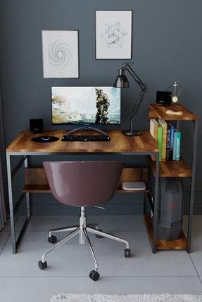 Nsade Kahverengi Çalışma Bilgisayar Masası 1