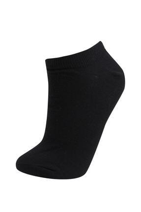 Defacto Kadın Beyaz Patik Çorap 7'li 1