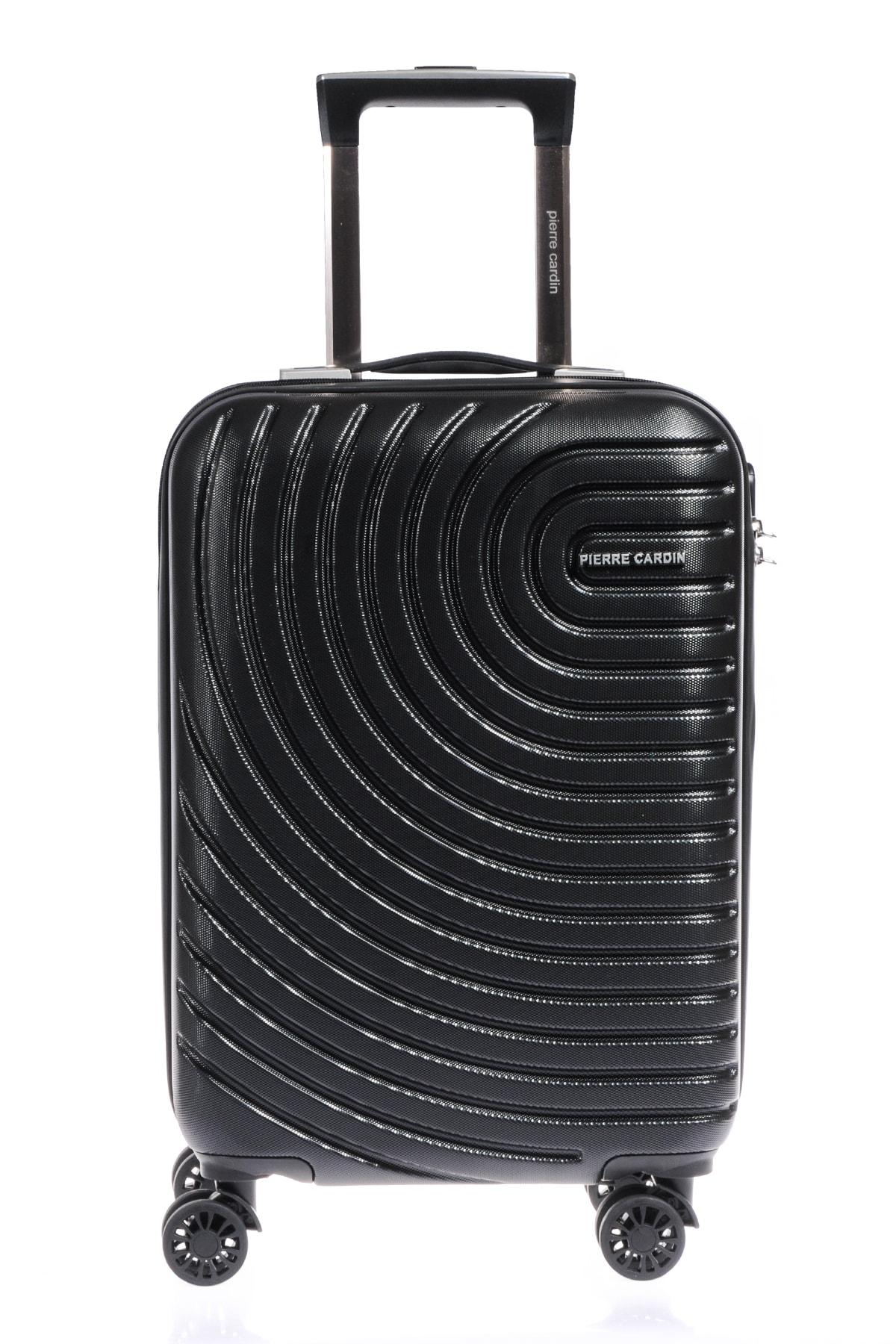 Pıerre Cardın 04pc1200-03-s Siyah Unısex Kabin Boy Bavul