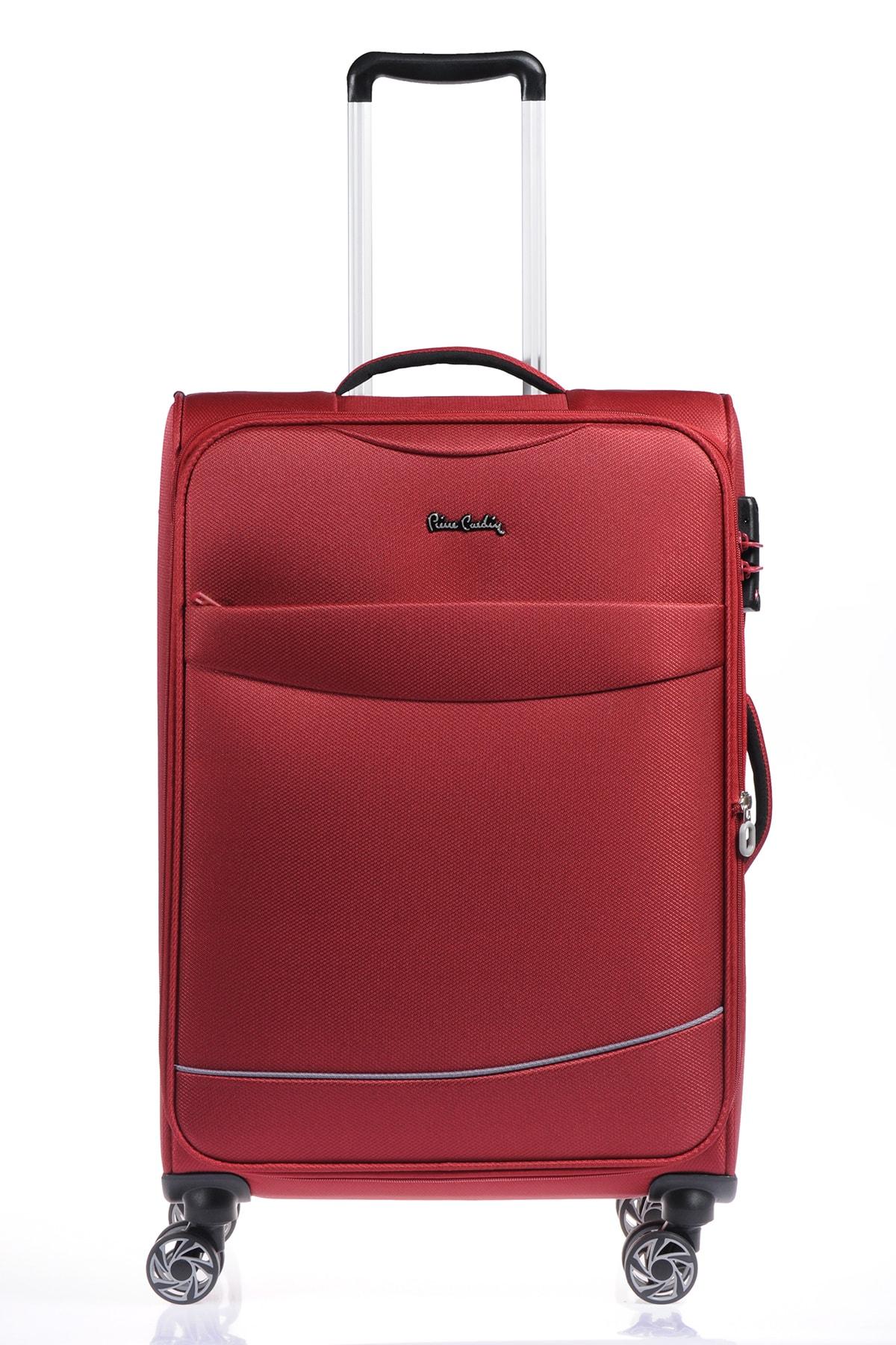 Bordo Unisex Orta Boy Valiz 8680869789197