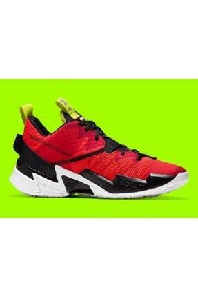 """Nike Erkek Kırmızı Jordan """"why Not?"""" Zer0.3 Se  Basketbol Ayakkabısı Ck6611-600 0"""