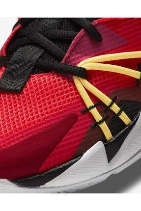 """Nike Erkek Kırmızı Jordan """"why Not?"""" Zer0.3 Se  Basketbol Ayakkabısı Ck6611-600 4"""