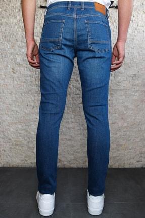 HLT JEANS Erkek Mavi Slim Fit Pantolon Hlthe001943 2