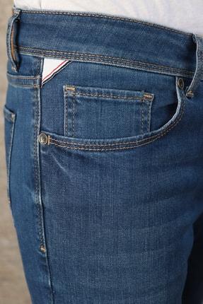 HLT JEANS Erkek Mavi Slim Fit Pantolon Hlthe001943 4