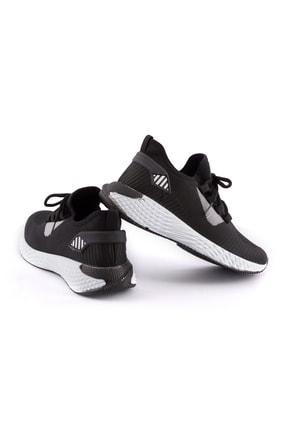 AKX 7 132 Siyah Beyaz Hava Akışlı Erkek Spor Ayakkabı 2