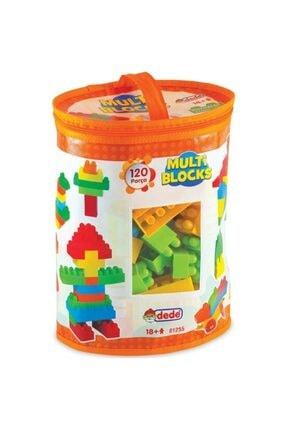 DEDE Eğitici Multi Blocks 120 Parça Oyuncak 01255 0