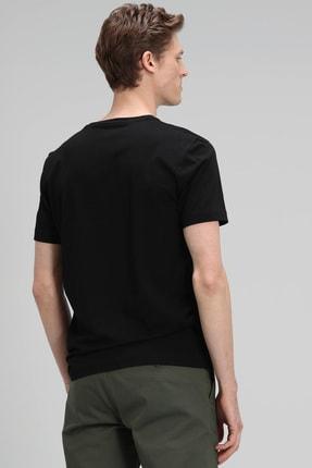 Lufian Monato Modern Grafik T- Shirt Siyah 3