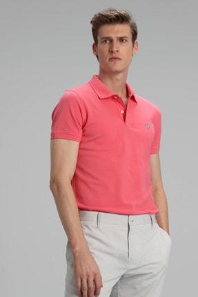 Lufian Laon Spor Polo T- Shirt Koyu Pembe 1