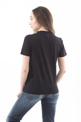 Emporio Armani Kadın Payet Detaylı Kısa Kollu T-shirt 3