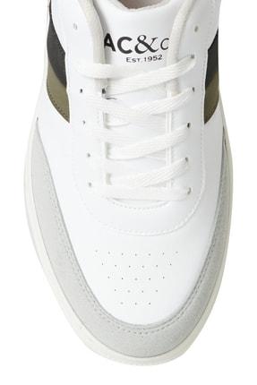 Altınyıldız Classics Erkek BEYAZ-SIYAH-GRI Casual Spor Sneaker Ayakkabı 1