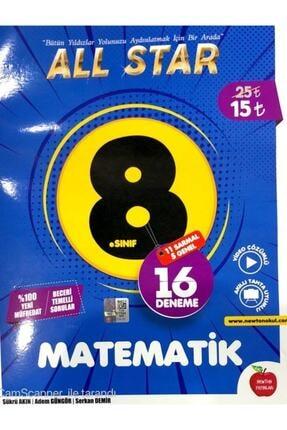 Newton Yayınları 8. Sınıf Lgs Matematik All Star 16 Deneme Yayınları 0