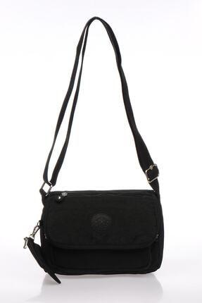 Smart Bags Smb1148-0001 Siyah Kadın Çapraz Çanta 0
