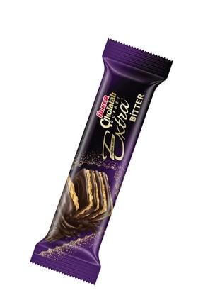 Ülker Çikolatalı Gofret EXTRA Bitter 45 Gr x18 Adet 1