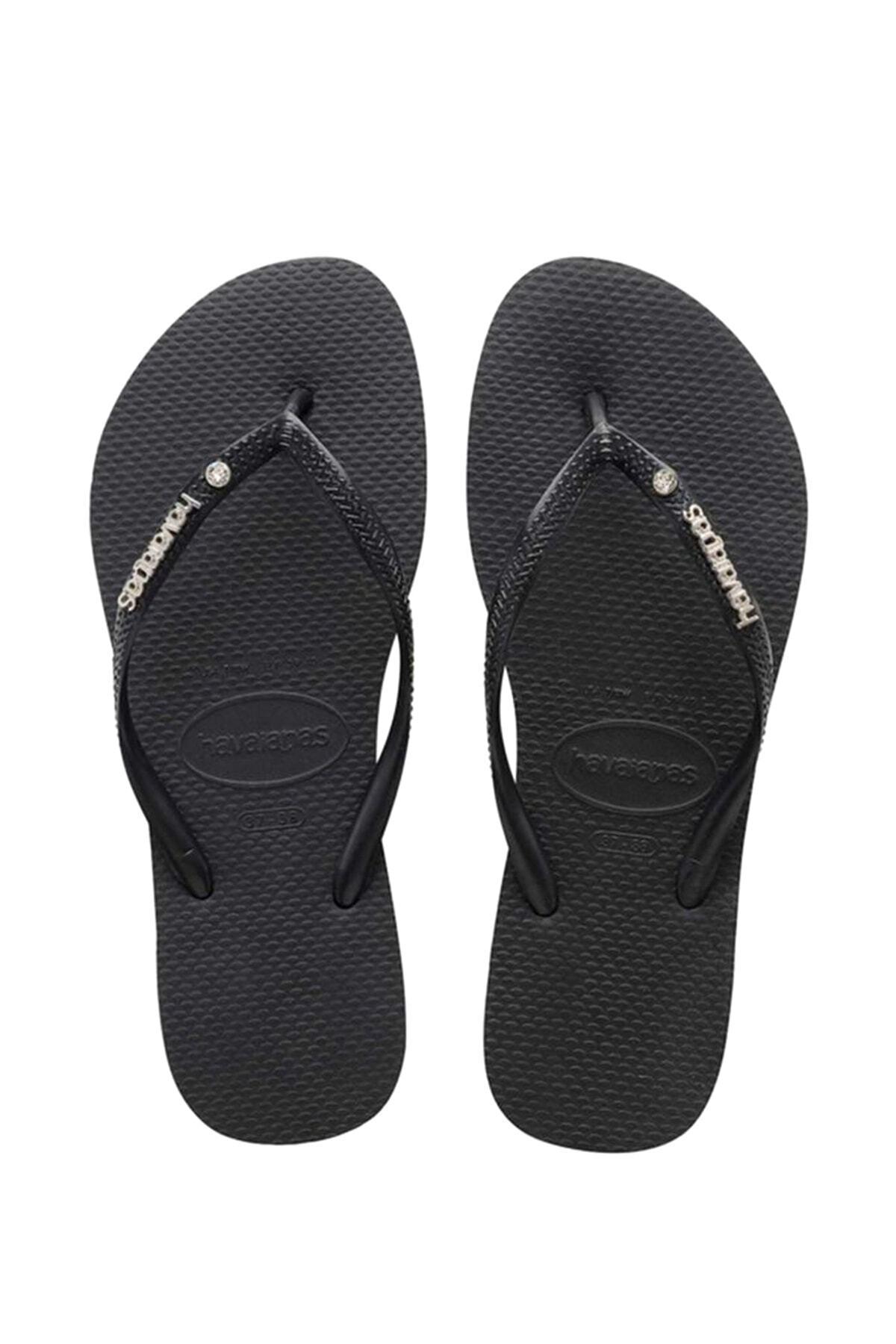 Siyah Kadın Sandalet 4129769-0090
