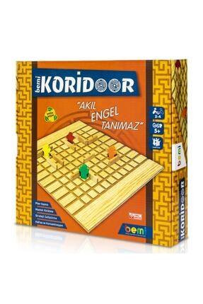 BEMİ Lüks Sağlıklı Ahşap Koridoor/koridor - Akıl Hafıza Mantık Eğitici Zeka Strateji Çocuk Ve Aile Oyunu 1