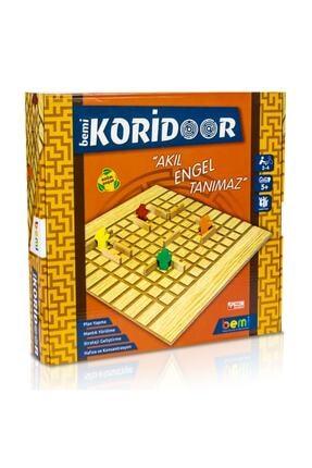 BEMİ Lüks Sağlıklı Ahşap Koridoor/koridor - Akıl Hafıza Mantık Eğitici Zeka Strateji Çocuk Ve Aile Oyunu 2
