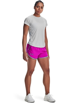 Under Armour Kadın Spor T-Shirt - UA Speed Stride Short Sleeve - 1326462-014 2