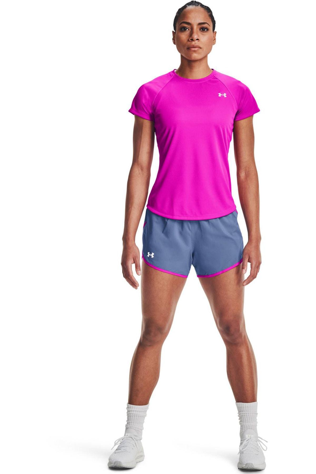 Under Armour Kadın Spor T-Shirt - UA Speed Stride Short Sleeve - 1326462-660